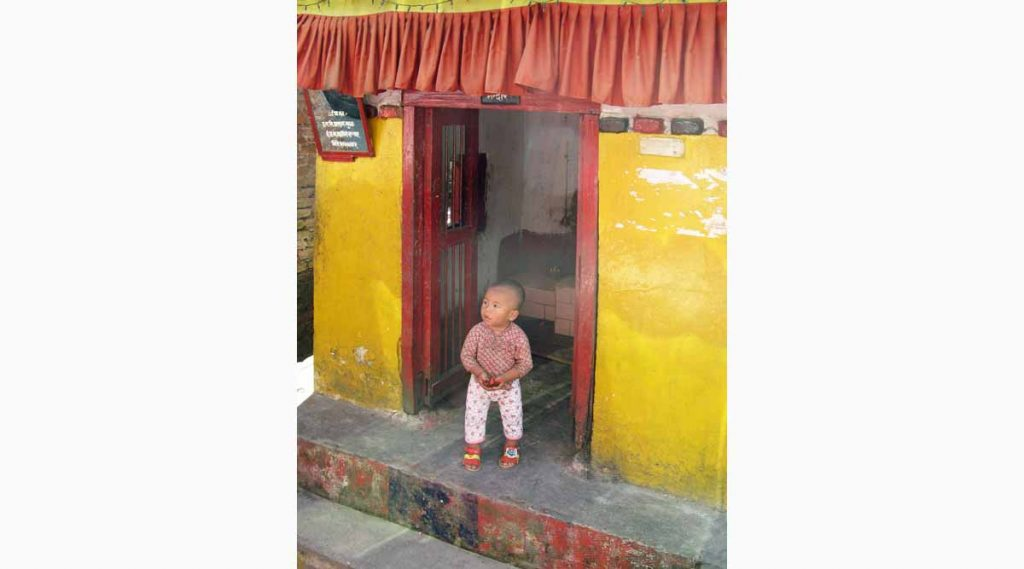 Nepal Kleine monnik