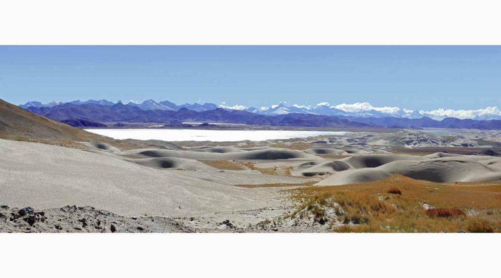 Tibet desert
